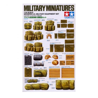 Military Miniatures - Modern U.S. Military Equipment Set