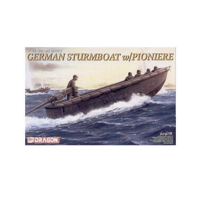 German Sturmboat w/Pioniere