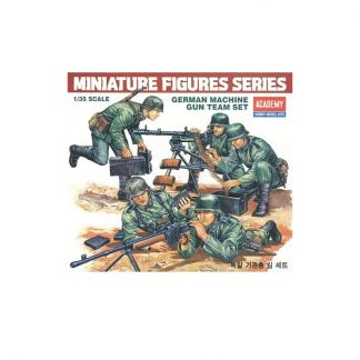 German Machine Gun Team Set