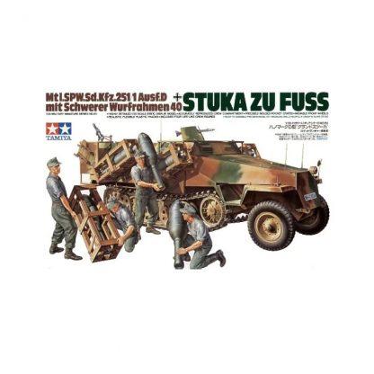 """""""Stuka Zu Fuss"""" Sd.Kfz.251/1 Ausf.D (mit Schwerer Wurfrahmen 40)"""
