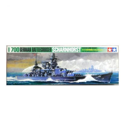 German Battlecruiser Scharnhorst - Water Line Series