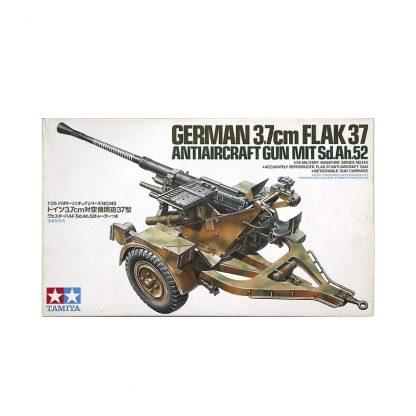 German 3.7cm Flak 37 Anti-Aircraft Gun - mit Sd.Ah.52