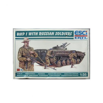 BMP 1 - with Russian soldiers
