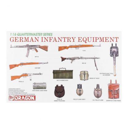 German Infantry Equipment