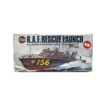 R.A.F. Rescue Launch - 63 Ft British Power Boat Type 2 'Whaleback'