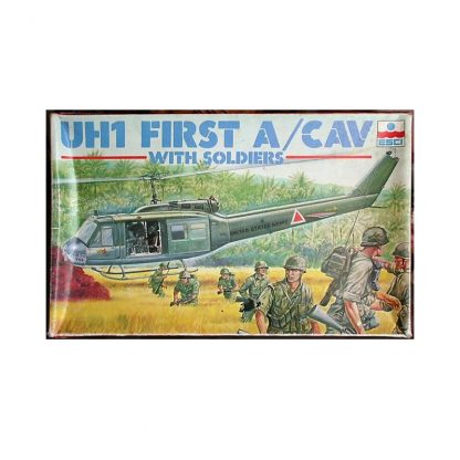 UH-1 - First A/CAV with Soldiers