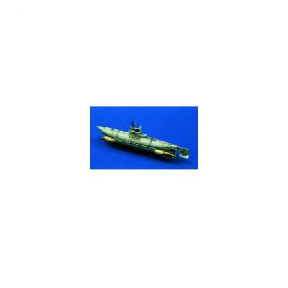 """BIBER"" German WWII Mini submarine"