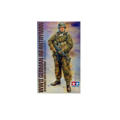 WWII German Infantryman (Reversible Winter Uniform)