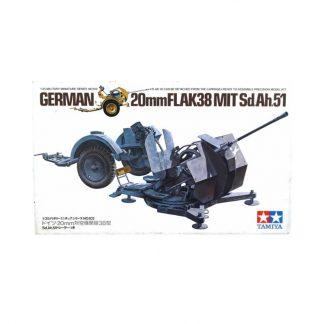 German 20mm FlaK38 MIT Sd.Ah.51