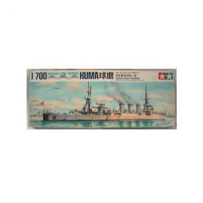 Japan Light Cruiser Kuma - Water Line Series