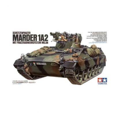 Bundeswehr SPz Marder 1A2 mit Panzerabwehrsystem Milan