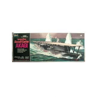 Japanese Navy Aircraft Carrier Akagi