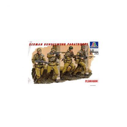 German Bundeswehr Paratroops