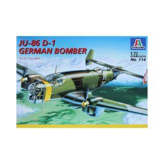 Ju-86 D-1 German Bomber