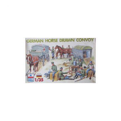 German Horse Drawn Convoy
