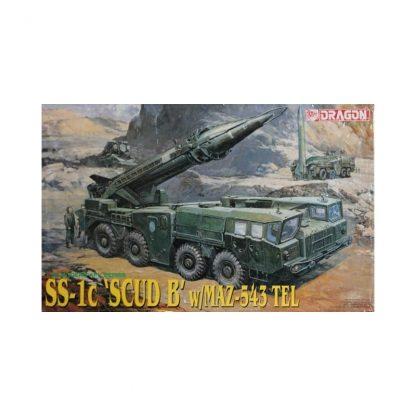 SS-1c SCUD B with MAZ-543 TEL