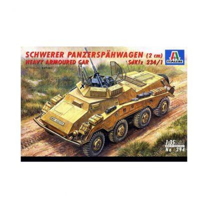 Schwerer Panzerspähwagen (2 cm) Heavy Armoured Car 234/1
