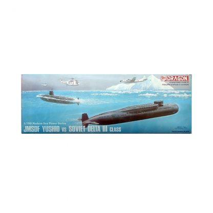 JMSDF Yushio vs Soviet Delta III Class