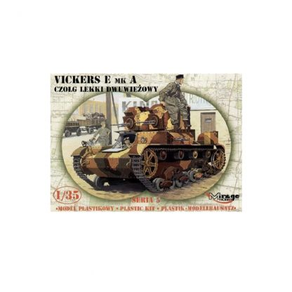 Vickers E MK A czołg lekki dwuwiezowy