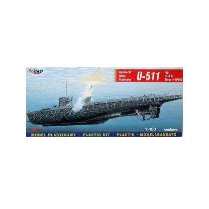 German submarine U-511 - type U-IX B Turm I + WG 42