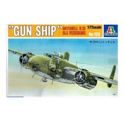 Gun Ship Mitchell B 25 H/J Versions