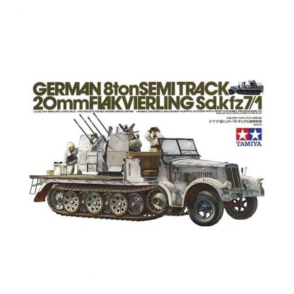 German 8ton Semitrack w/20mm Flakvierling Sd.Kfz. 7/1