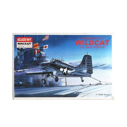 Grumman F4F-4 Wildcat - U.S. Navy Fighter