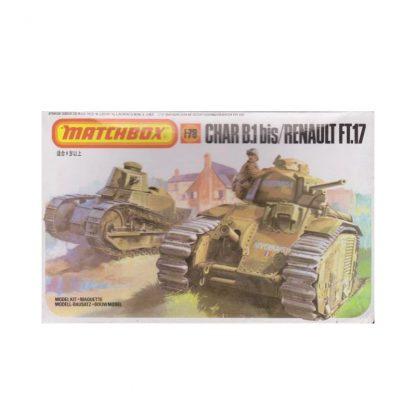 Char B.1 bis / Renault FT.17