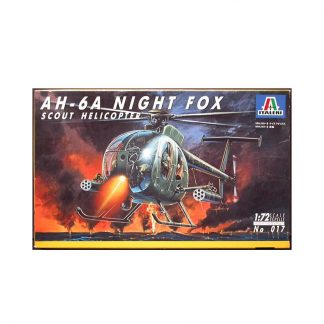 AH-6A Night Fox - Scout Helicopter