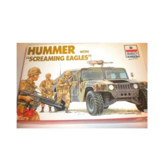 HUMMER with Screaming Eagles US Army 101st