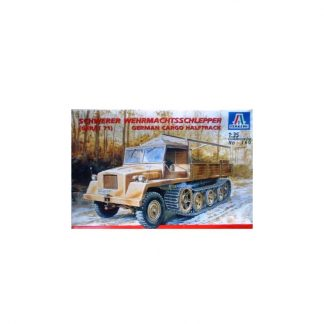 Schwerer Wehrmachtsschlepper (Gerät 71) - German Cargo Halftruck