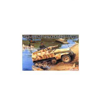 Sd.Kfz. 250/8 NEU 7.5cm KwK37(L/24) STUMMEL