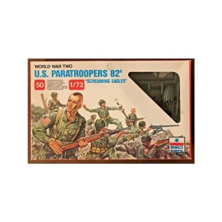 U.S. Paratroopers 82A - Screaming Eagles WWII