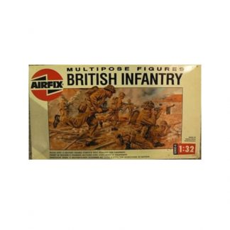 Multipose Figures British Infantry