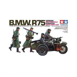 B.M.W.R75 - German Motorcycle B.M.W. R75 with Side Car