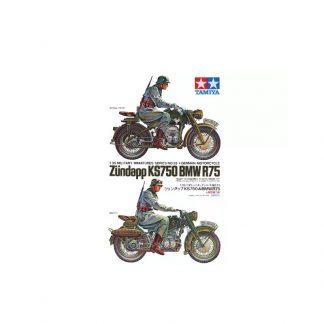 German Motorcycle Zündapp KS750 BMW R75