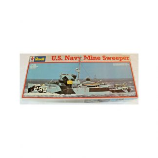U.S. Navy Mine Sweeper