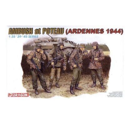 Ambush at Poteau (Ardennes 1944)