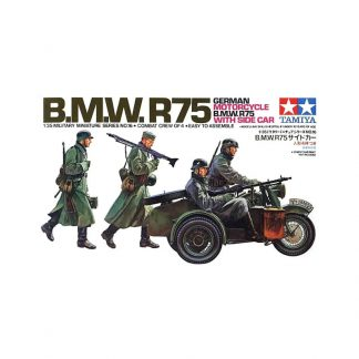 B.M.W.R75 - German Motorcycle B.M.W. R75 with Side Car