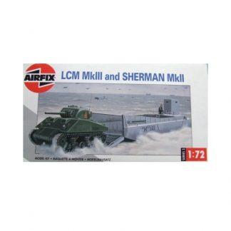LCM MkIII and Sherman MkII