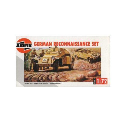 German Reconnassaince Set - Sd.Kfz. 222 & Kübelwagen