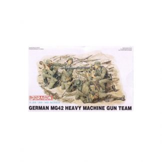 German MG42 Heavy Machine Gun Team