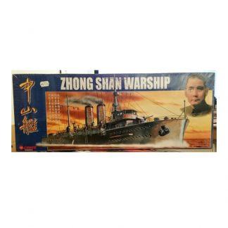Chinese Noted Warship Series Zhong Shan Warship (Gunboat, 1910)
