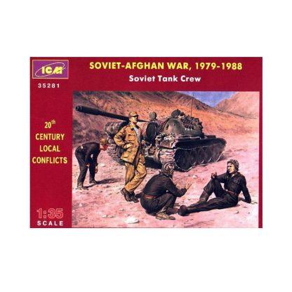 Soviet Tank Crew - Soviet-Afghan War, 1979-1988