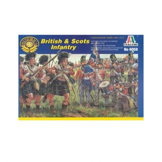 British & Scots Infantry - Napolionic Wars 1805-1815
