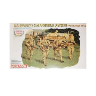 U.S. Infantry 2nd Armored Division - Normandy 1944