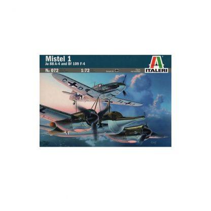 Mistel 1 Ju-88 A-4 with Bf-109 F