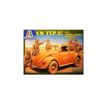 VW Typ 87 with Afrika Koprs Soldiers