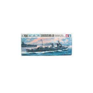 Japanese Navy Destroyer Shikinami