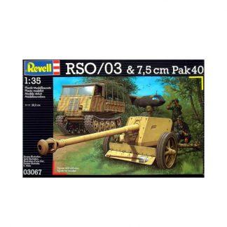 RSO/03 & 7,5 cm Pak 40